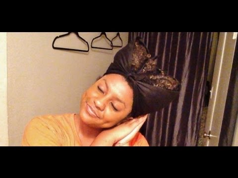 How To Preserve Your Natural Hairstyles Overnight