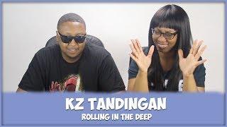 "Download Lagu KZ TANDINGAN - Rolling in the Deep ""Singer 2018""   REACTION!! Gratis STAFABAND"