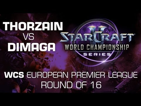 DIMAGA vs. ThorZaiN - Group D Ro16 - WCS European Premier League - StarCraft 2