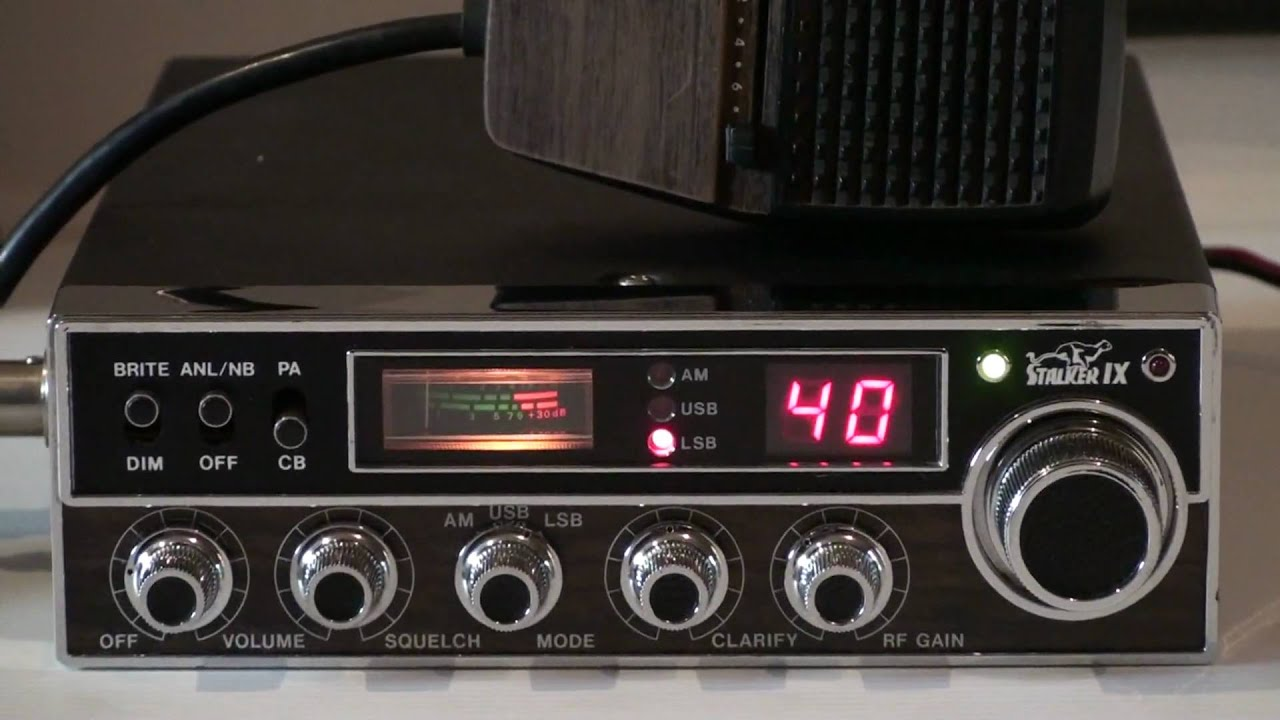 STALKER IX CB RADIO - YouTube