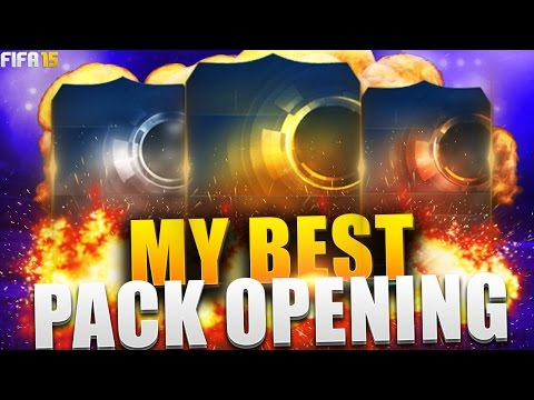 MY BEST PACK OPENING IN FIFA 15