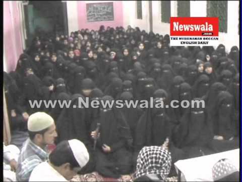 Jamaath ul Mominath prayed for early release of Akbaruddin Owaisi at Urdu Ghar, Mughalpura