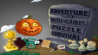 PLANTS VS ZOMBIES 100% PLANTS VS ZOMBIES HALLOWEEN