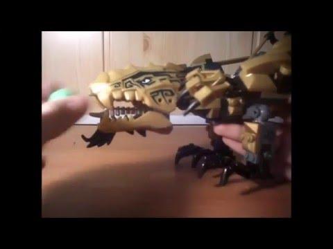 Обзор на набор  Бела ниндзя Золотой дракон