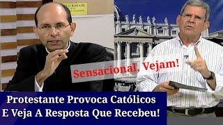 Protestante Provoca Católicos,Vejam a Resposta Que Recebeu.