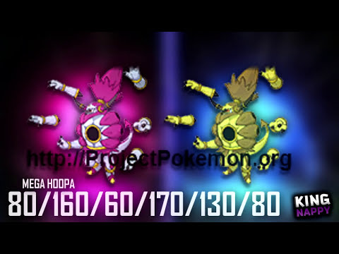 Pokémon Omega Ruby & Alpha Sapphire MEGA + PRIMAL EVOLUTION Stats Distributions!!