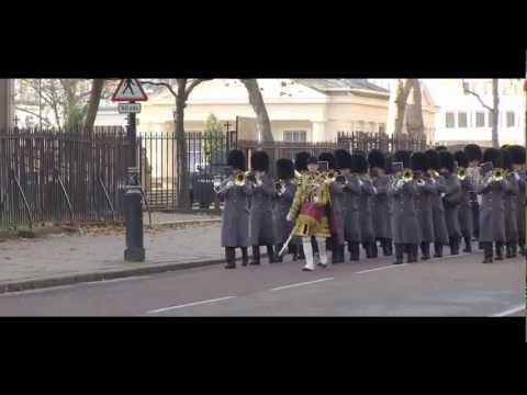 Remembrance Sunday 2012, London - The Military Bands