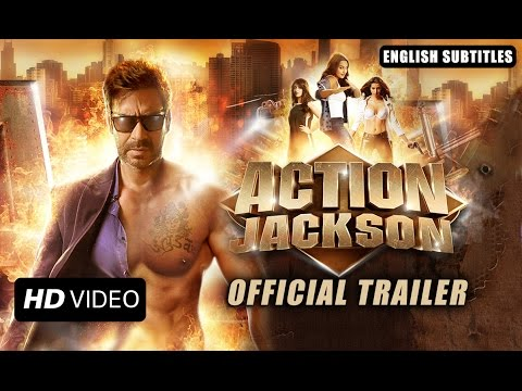 Action Jackson (Official Trailer With English Subtitles) | Ajay Devgn & Sonakshi Sinha