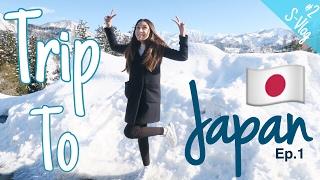 S-VLOG #2 - Trip to JAPAN ep.1- Pertama Kali Ngeliat Salju