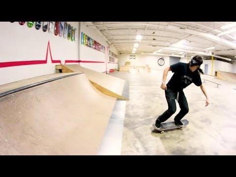 Can You Skateboard Blindfolded!? / Warehouse Wednesday!