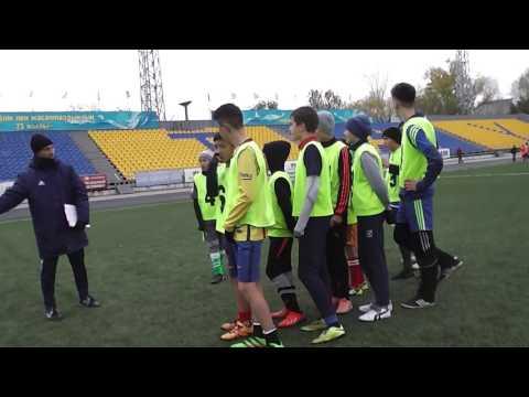 Отбор юношей 2003 г.р в академию футбола Алтай
