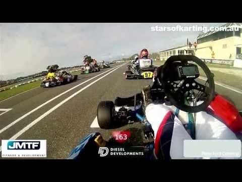 Monitoring the heart rate of a KZ2 driver