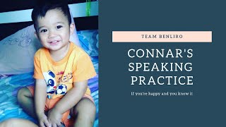 Connar's Speaking Practice (If you're happy and you know it)
