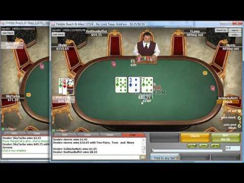 Free Online Poker Training Video 50NL - PT 1