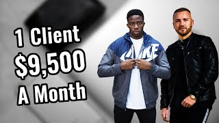 How He Signed A $9,500 Per Month Social Media Marketing Client - Student Success Interview
