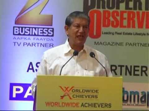 SHRI HARISH RAWAT HON'BL MINISTER OF WATER RESOURCES (GOVT. OF INDIA)