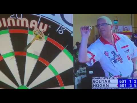 Paul hogan 9 darter British international