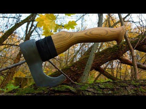 Как сделать отличный топорик из ржавого топора своими руками