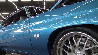 1971 Chevelle SS 454 father & son restoration Dallas Texas Autorama 2019 Samspace81 #Chevelle
