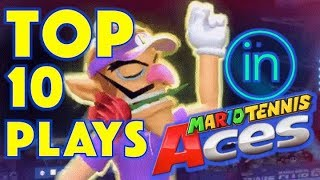 TOP 10 MARIO TENNIS ACES PLAYS | Another Giveaway on Wednesday!