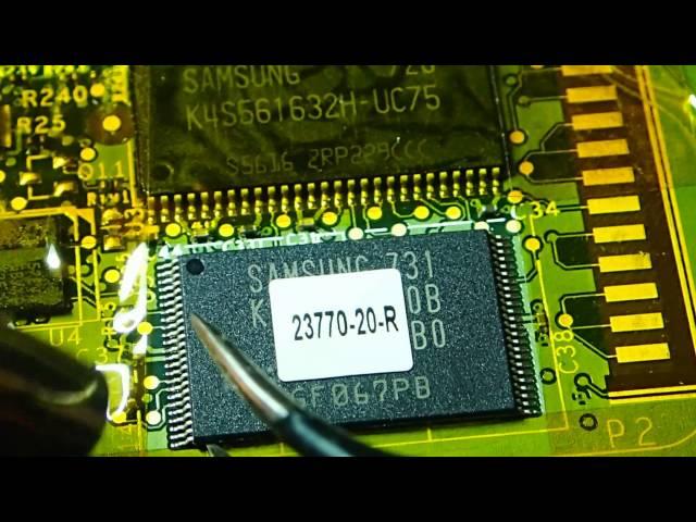 Reverse Engineering NAND Flash Memory – POS device... - Hewlett ...