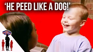 Kid Pees On Floor While In Naughty Room   Supernanny