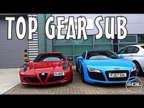 VERY FUN SUPERCAR DAY: Top Gear Substitute!