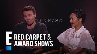"Joel Edgerton and Ruth Negga Talk ""Loving"" 