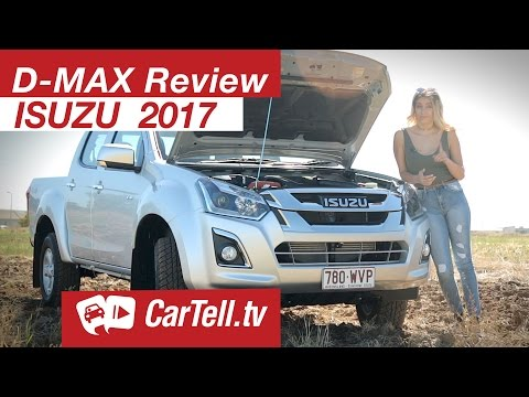 Isuzu D-MAX 2017 Crew Cab Review   CarTell.tv