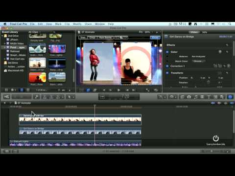 Creating PIP in Final Cut Pro X