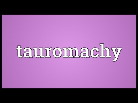 Header of tauromachy