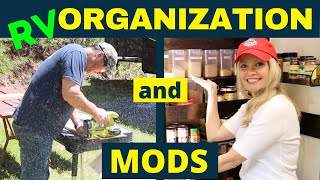➡️ RV Mods and Organization for RV Living [✅ Bonus Projects!]
