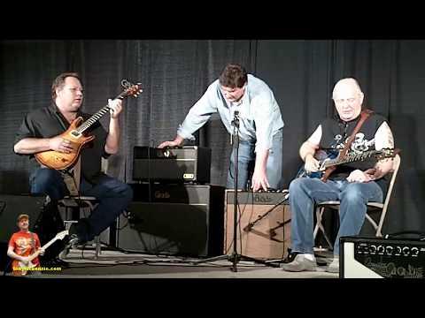 Dallas Guitar Show 2010 Part FOUR By tonymckenzie.com PRS Amps and Bugs Henderson - Mike Clark