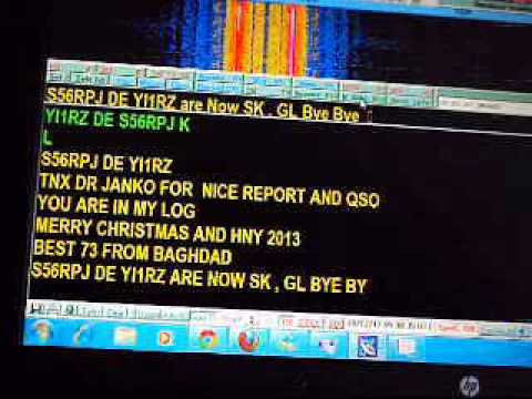 My RTTY QSO with S56RPJ on 15m Bnad in 28 12 2012