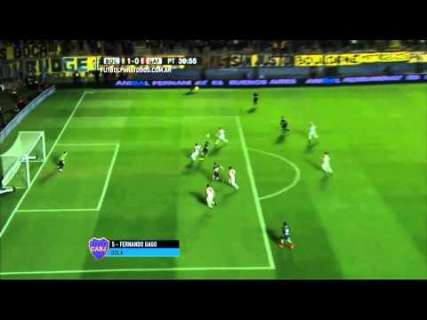 Videos: Reviví los cuatro gritos de Boca ante un estadio repleto de Xeneizes