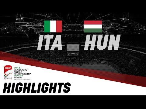 Italy - Hungary | Highlights | 2018 IIHF Ice Hockey World Championship Division I Group A