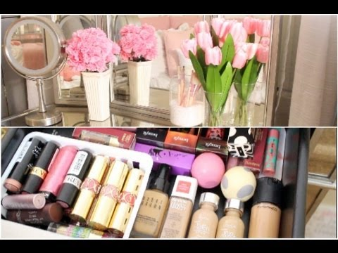 My Makeup Collection & Storage! - ThatsHeart