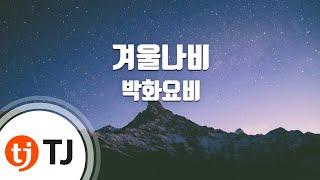 [TJ노래방] 겨울나비 - 박화요비 (Winter Butterfly - Park Hwayobi) / TJ Karaoke