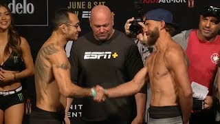 UFC 238: Weigh-In Faceoffs