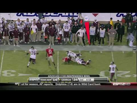 (HD) Georgia Bulldog's Highlights vs Texas A&M Video