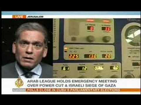 Al-Jazeera News Jan. 21, 2008 Video