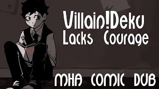 Villain!Deku Lacks Courage - My Hero Academia Comic Dub
