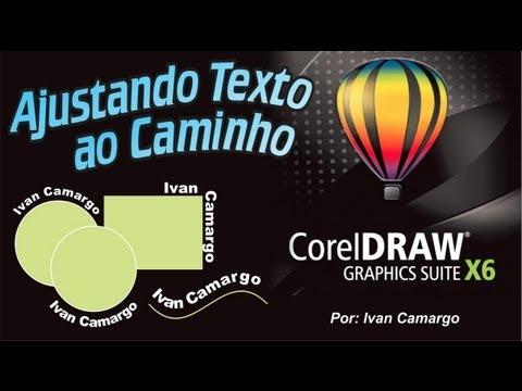 Ajustar Texto ao Caminho no Corel Draw X6