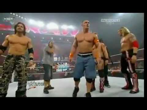Team cena vs. Nexus Best WWE Moment
