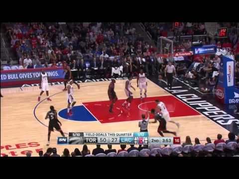 Toronto Raptors vs Los Angeles Clippers November 22, 2015