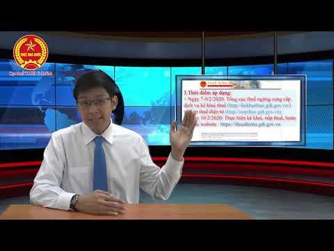 Giới thiệu về kê khai điện tử etax - https://thuedientu.gdt.gov.vn