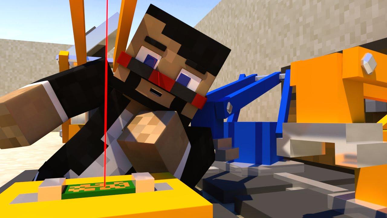 MOST AMAZING MINECRAFT MACHINES EVER (Minecraft Animation)