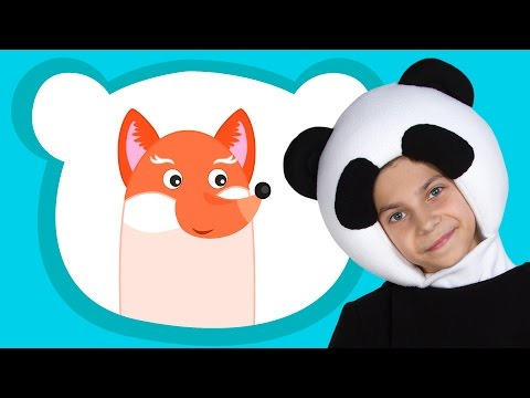 ПАЛЬЧИКИ - ТРИ МЕДВЕДЯ - Animals Finger Family Song - песенка считалочка про пальчики для малышей