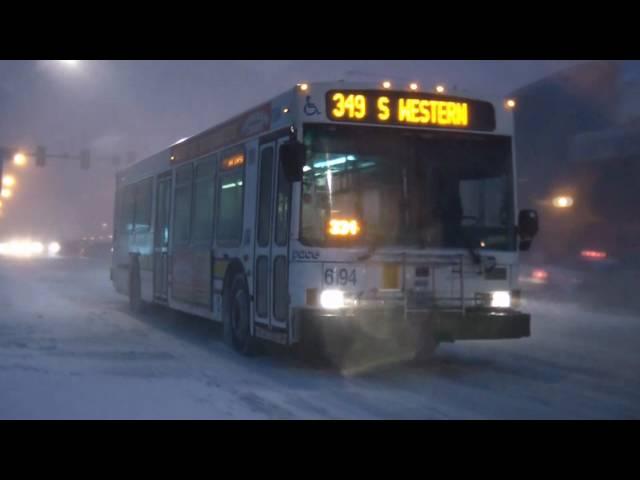 RAW VIDEO: Chicago Blizzard 2011 2/1/11 -HD