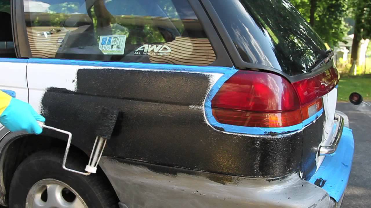 Car Fenders Painted